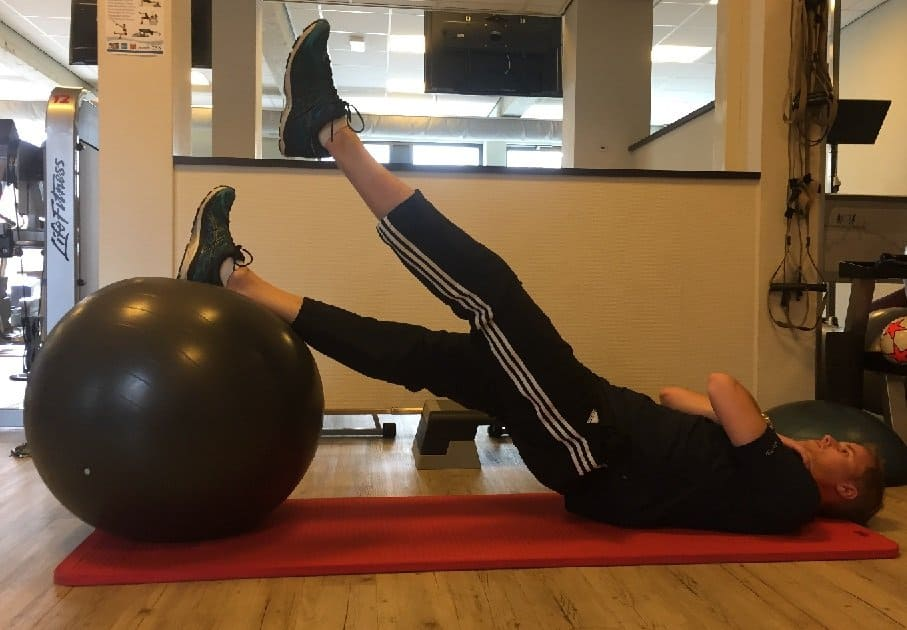 lower back stability exercise