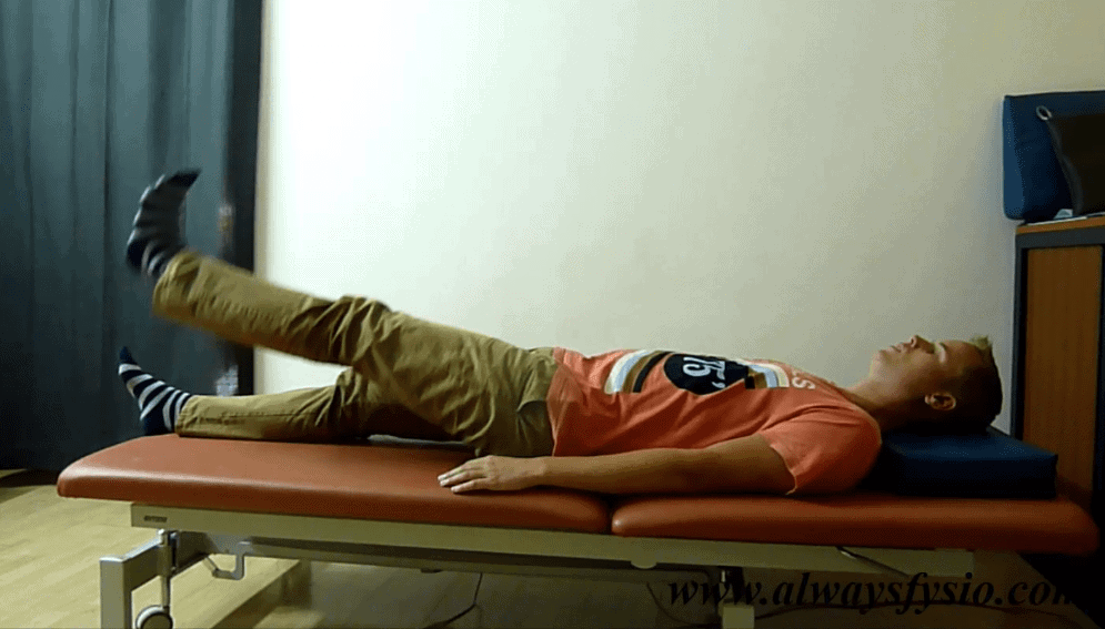 schiatic stretch test for piriformis syndrome