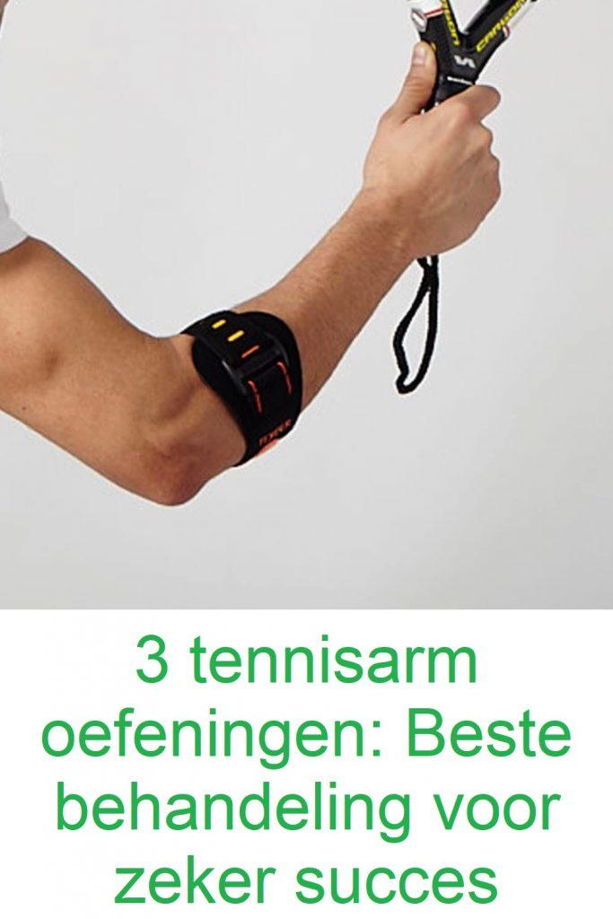 tennisarm oefeningen