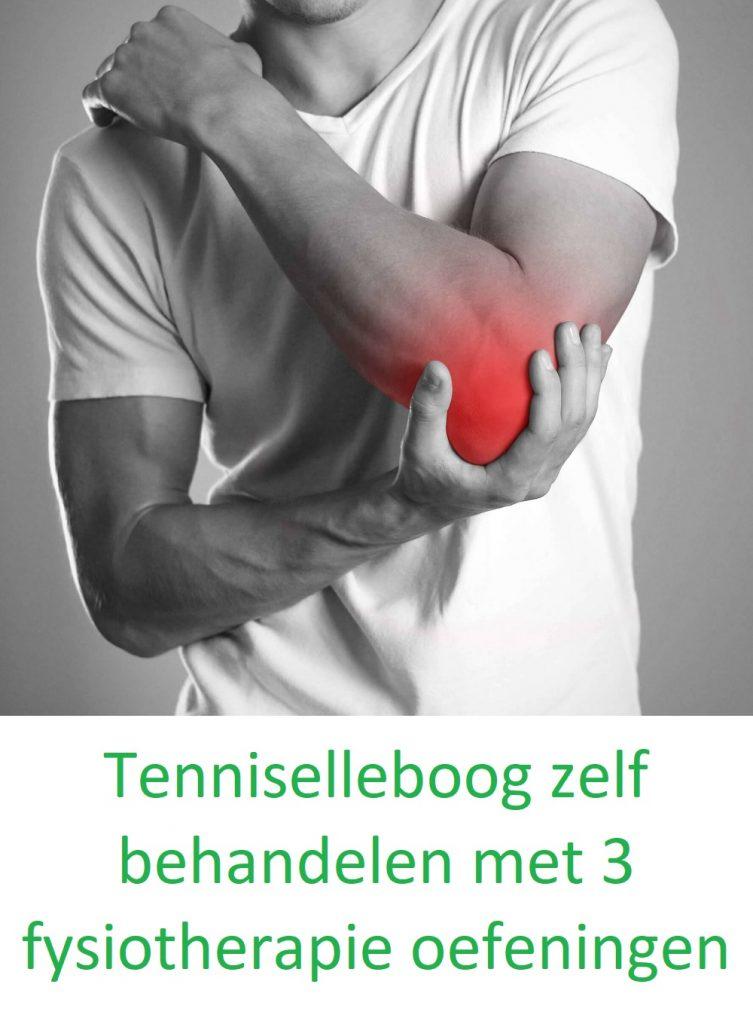 Tenniselleboog zelf behandelen met 3 fysiotherapie oefeningen